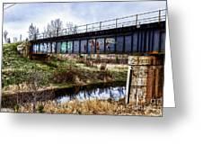 Graffiti Bridge Greeting Card