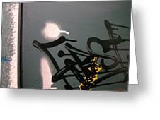 Graffiti Iv Greeting Card