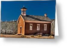 Grafton Schoolhouse Greeting Card