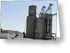 Grain Processing Facility In Shirley Illinois 3 Greeting Card