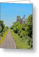 Grain Processing Facility In Shirley Illinois 4 Greeting Card