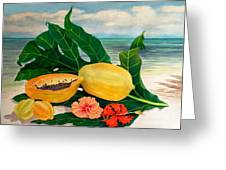Grand Anse Still Life Greeting Card
