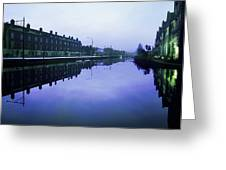 Grand Canal, Portobello, Dublin, Co Greeting Card