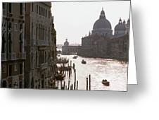 Grand Canal Venice 01 Greeting Card