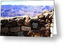 Grand Canyon 35 Greeting Card