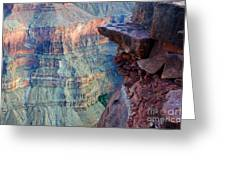 Grand Canyon A Place To Stand Greeting Card