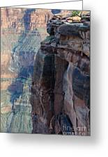 Grand Canyon Close Enough Greeting Card