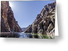 Grand Canyon Gorge Greeting Card