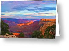 Grand Canyon Grand Sky Greeting Card
