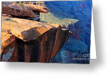 Grand Canyon Into Space Greeting Card