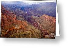 Grand Canyon Morning Scenic View Greeting Card