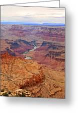 Grand Canyon Nationa Park Painting Greeting Card