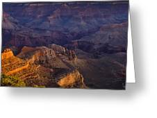 Grand Canyon Panorama Greeting Card by Andrew Soundarajan