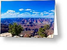 Grand Canyon Panorama White Greeting Card