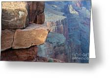 Grand Canyon Raw Nature Greeting Card