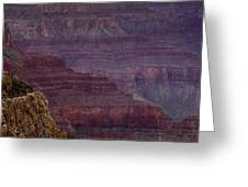 Grand Canyon Ridges Greeting Card by Andrew Soundarajan