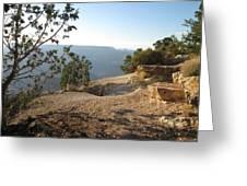 Grand Canyon Rim View Greeting Card