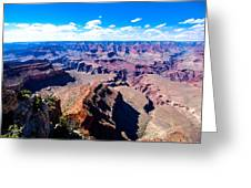 Grand Canyon Rock Face Greeting Card