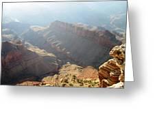 Grand Canyon Sunbeams Greeting Card