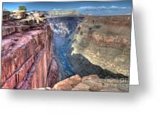Grand Canyon Toroweap Vista Greeting Card
