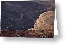 Grand Canyon Trail Greeting Card