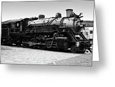 Grand Canyon Train Greeting Card