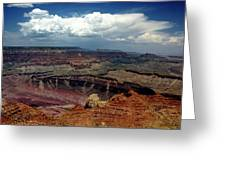 Grand Canyon View - Greeting Card Greeting Card