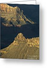 Grand Canyon Vignette 2 Greeting Card