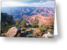 Grand Canyon Vista Greeting Card