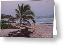 Grand Cayman Surfer Greeting Card