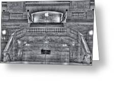 Grand Central Terminal East Balcony II Greeting Card