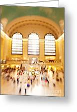 Grand Central Terminal New York City Greeting Card