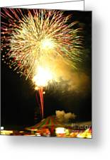 Grand Finale At The Fair Greeting Card