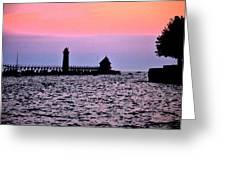 Grand Haven Michigan Greeting Card