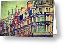 Grand Hotel Greeting Card