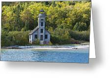 Grand Island E Channel Lighthouse 3 Greeting Card