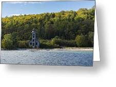 Grand Island E Channel Lighthouse 4 Greeting Card