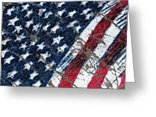 Grand Ol' Flag Greeting Card