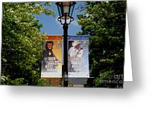 Grand Ole Opry Flags Nashville Greeting Card