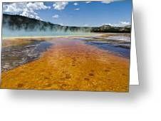 Grand Prismatic Spring IIi Greeting Card