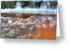 Grand Prismatic Spring Iv Greeting Card
