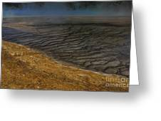 Grand Prismatic Spring Runoff Greeting Card