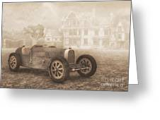 Grand Prix Racing Car 1926 Greeting Card by Jutta Maria Pusl