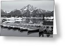 Grand Teton Dawn Iv Greeting Card