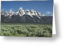 Grand Teton Spring Greeting Card