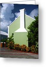 Grand Turk Store Building Greeting Card