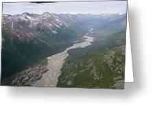Granite Creek In The Chugach Mountains Greeting Card