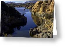 Granite Dells Greeting Card