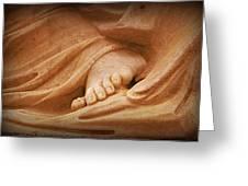 Granite Foot Greeting Card