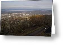 Grants Pass From The Hill Top Greeting Card